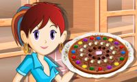 Chocolate Pizza: Sara's Cooking Class